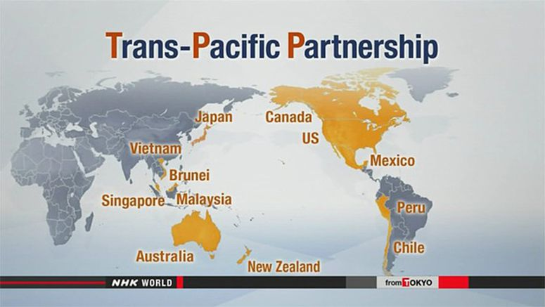 Japan to send state minister to TPP signing