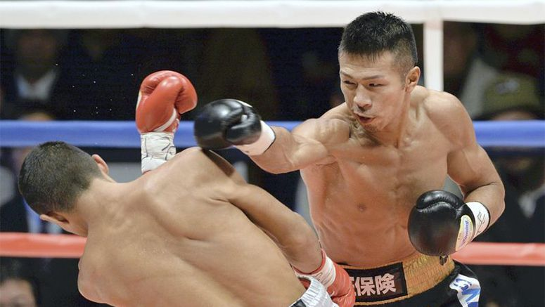 Boxing : Uchiyama nears Japan record with 11th title defense