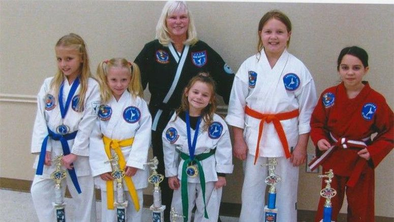 Crosby Karate girls take home top prizes