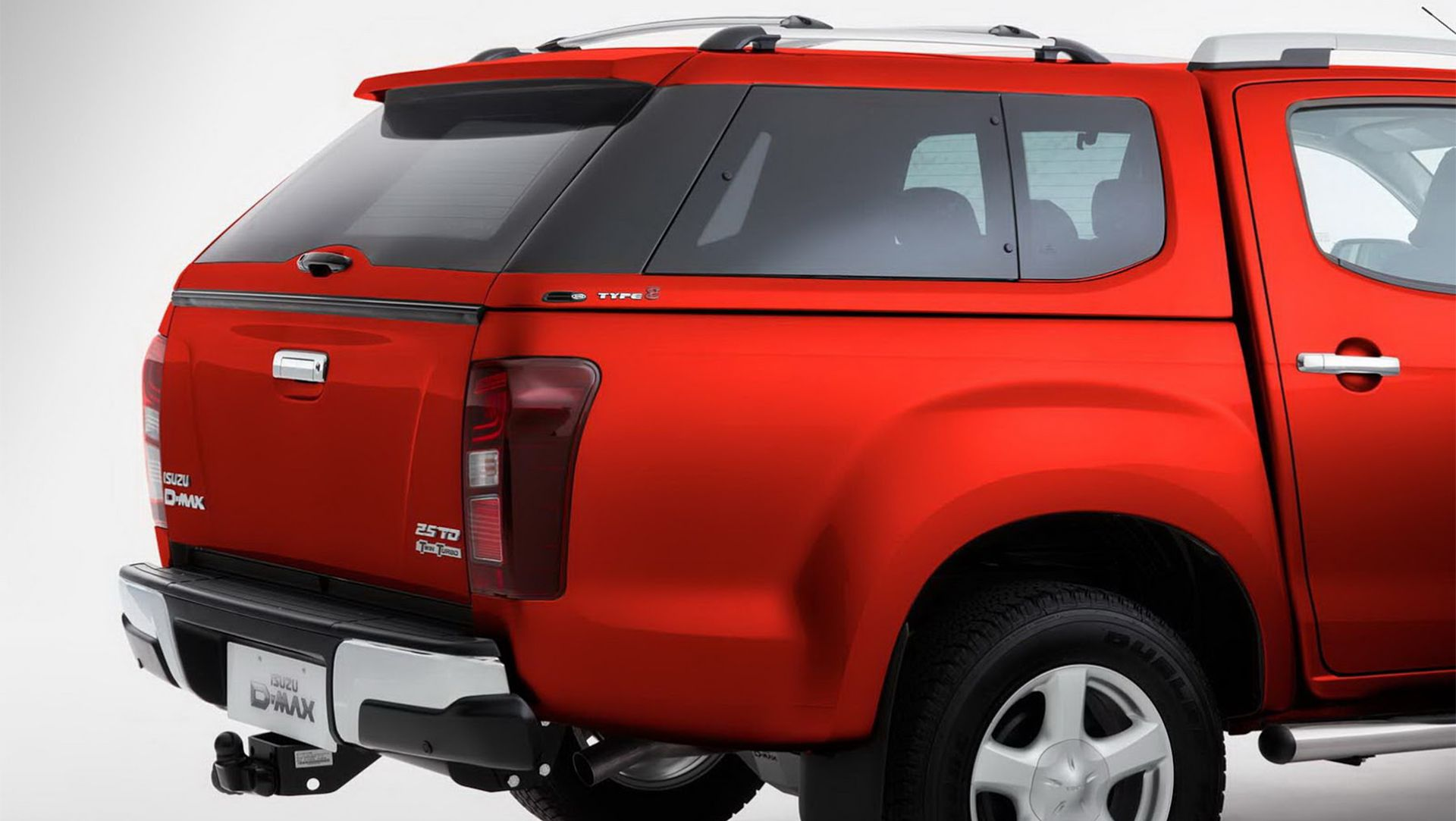 Alfa img showing gt leer canopy glass - Isuzu D Max Pickup With New Hard Top Canopy