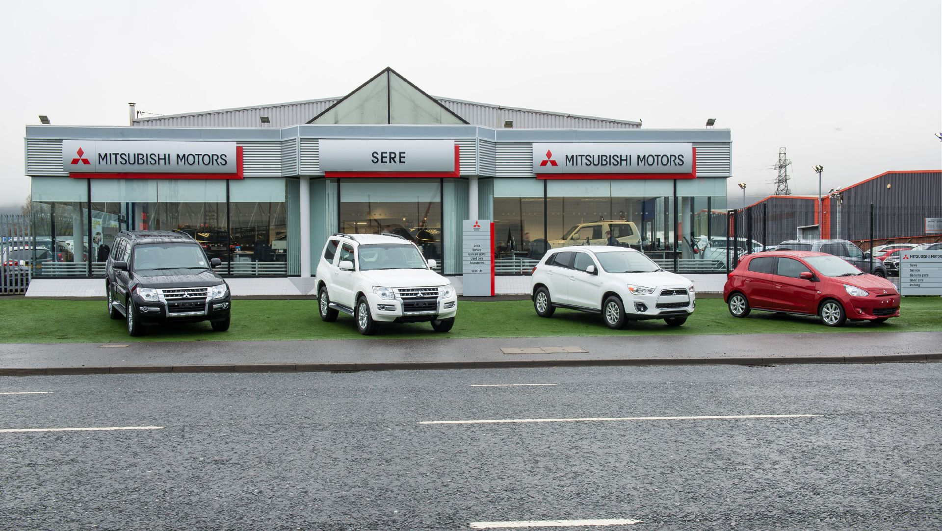 New Mitsubishi Dealership Opens In Northern Ireland Auto Moto - Mitsubishi local dealers