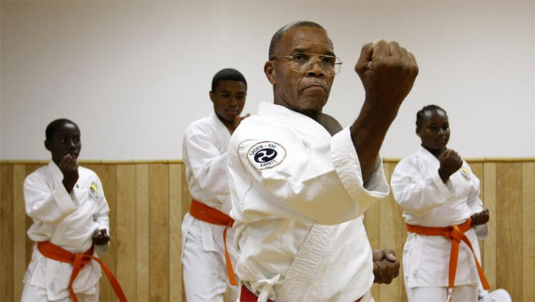 Golden Sun Dojo co-owners Barfield, Dennis continue to make karate history