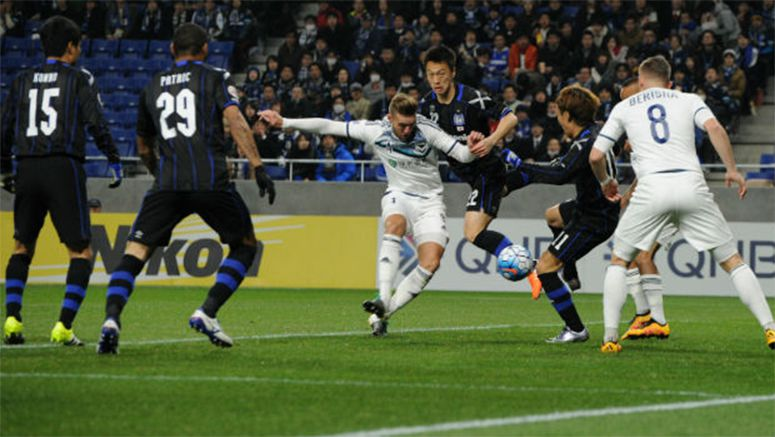 Soccer : Struggling Gamba held to draw at home