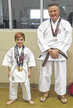 Japan Shudokan Budo-Kai Karate School brings back gold
