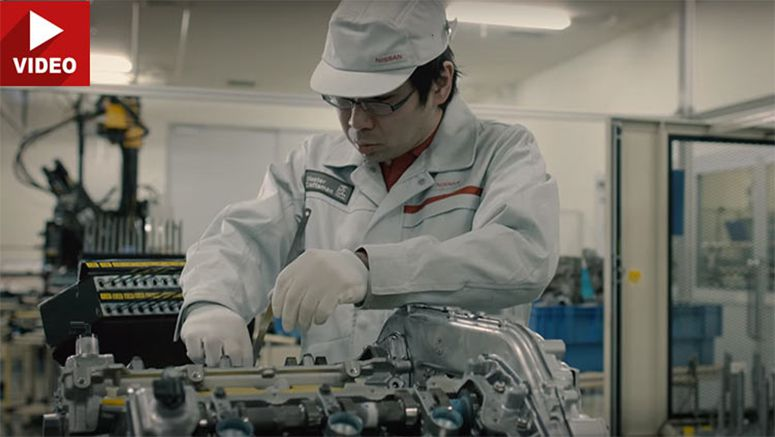 Nissan Still Hand-Builds Every Single GT-R Engine