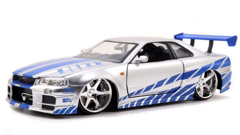 Fast And Furious Nissan Skyline Gt R Model Does Paul