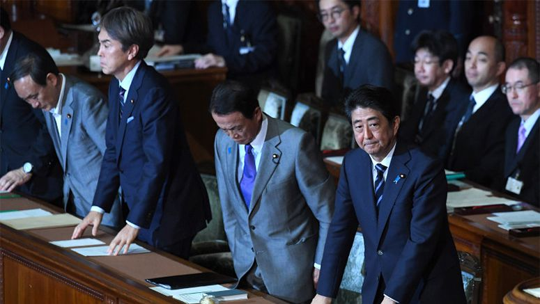 No-confidence motion against Abe Cabinet voted down