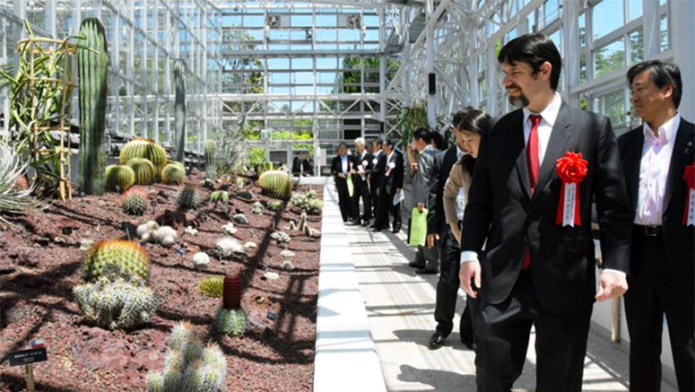 Jindai Botanical Gardens doubles plant species in greenhouse