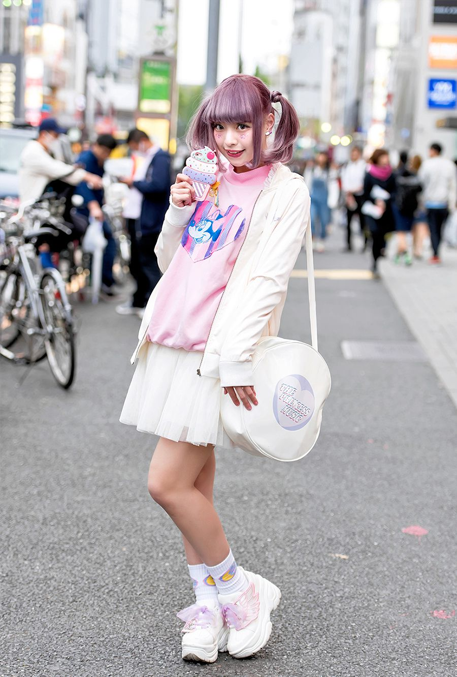 Harajuku Girl with Pastel Twintails and Kawaii Fashion by Ank Rouge and  Neon Moon 6608bec6f2fd