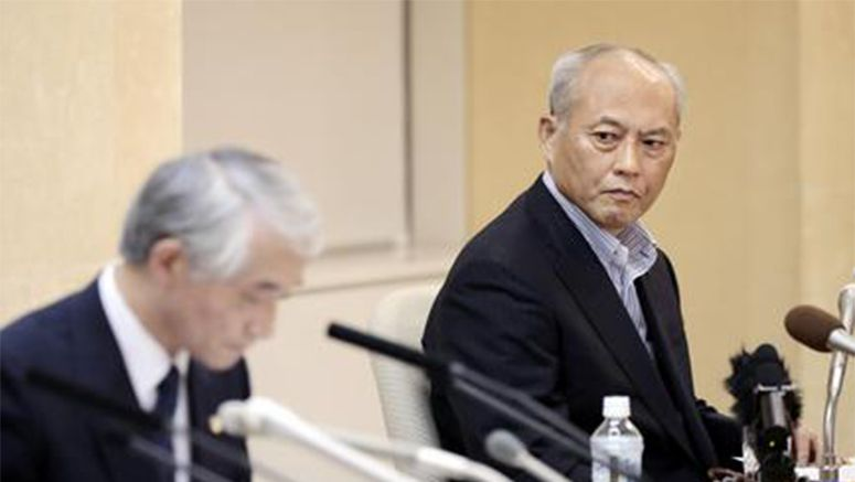 "Tokyo governor regrets ""improper"" use of funds but won't quit"