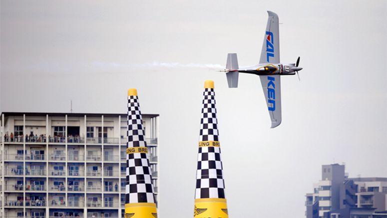 Japanese pilot soars to new heights, winning world crown