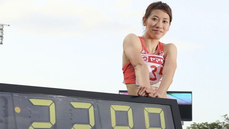 Sprint queen Fukushima heads to Rio with Japan record, renewed confidence