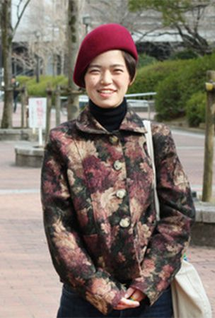 Young Japanese woman pursues career as world-class hat designer