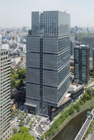 Commercial complex opens on former Akasaka Prince site in Tokyo