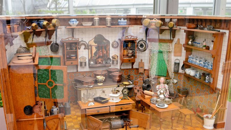Dozens of dollhouses throw open doors at Hakone museum