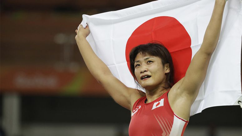 Icho claims 4th straight Olympic wrestling gold, Tosaka, Dosho win 48-kg, 69-kg events