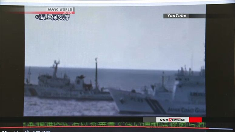 Japan posts video of Chinese ships near Senkakus
