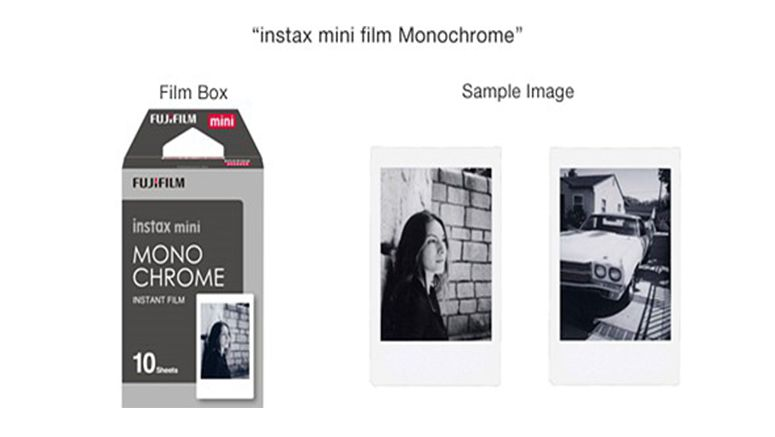 Fujifilm to introduce monochrome instax mini film