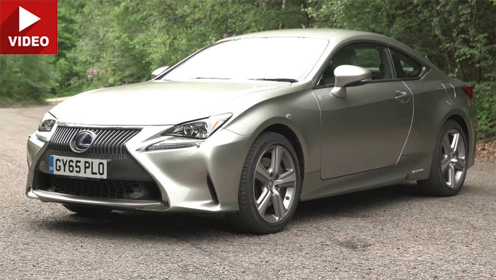 2017 lexus rc coupe review reveals the good & bad of owning a 4