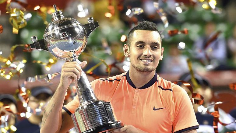 Kyrgios beats Goffin to bag Japan Open