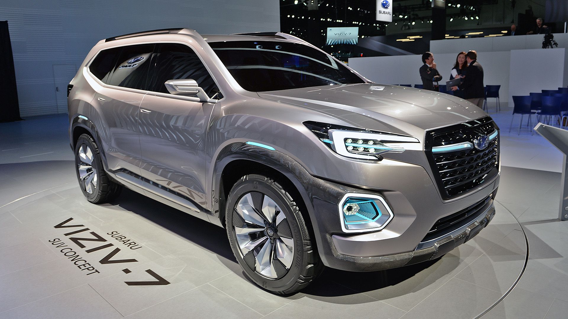 Los Angeles Auto Show The Next Subaru Threerow Will Be The - Next auto show