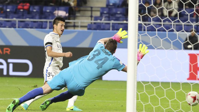 Soccer: Kashima beat Nacional, 1st Asian team to reach Club WC final