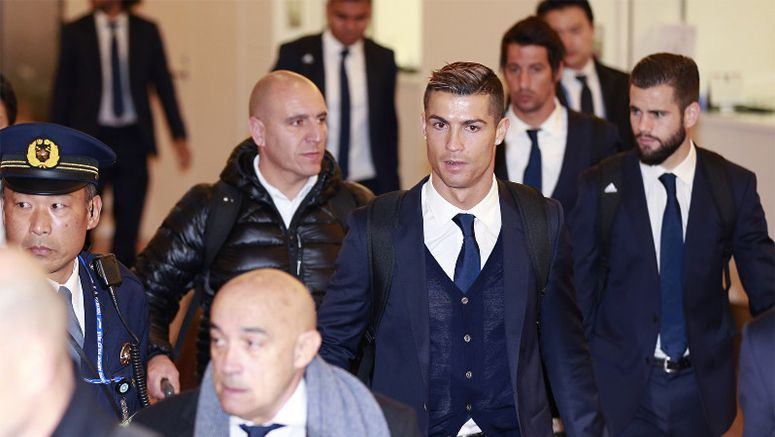 Soccer: Real Madrid arrives in Japan to contest Club World Cup