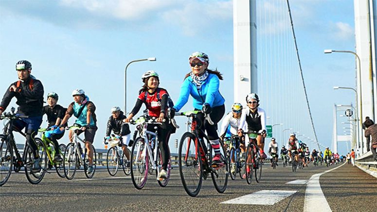 Shimanami Kaido cycling route makes world top 50 list