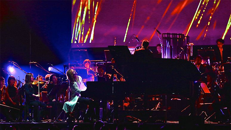 Yoshiki Live Interview and Performance