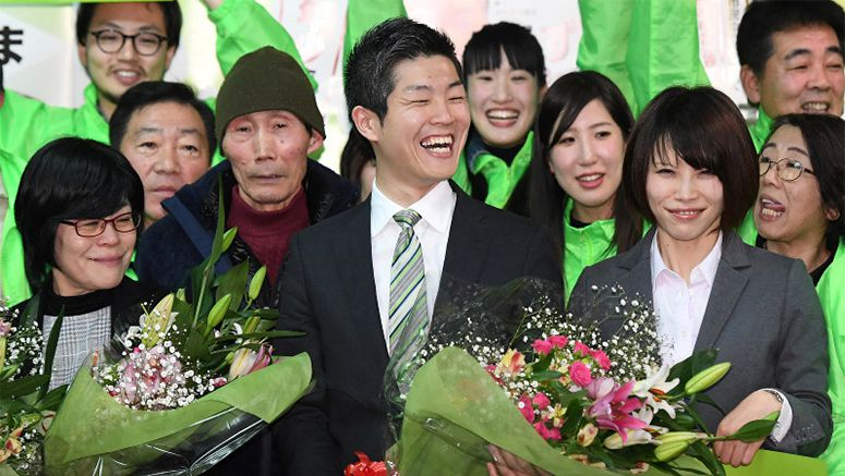 Ex-Foreign Ministry official to become Japan's youngest mayor at 28