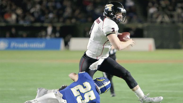 Cameron flings Fujitsu to national football title