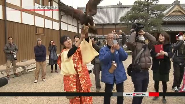 Hawk performs for Year of Rooster