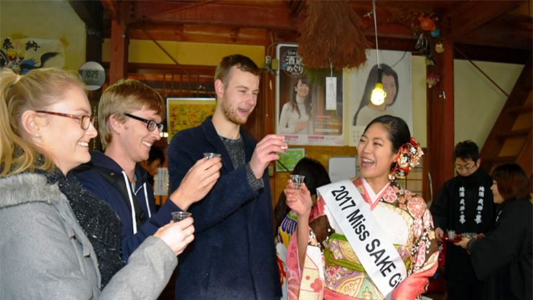 Gifu breweries aim to reach foreign markets with special sake