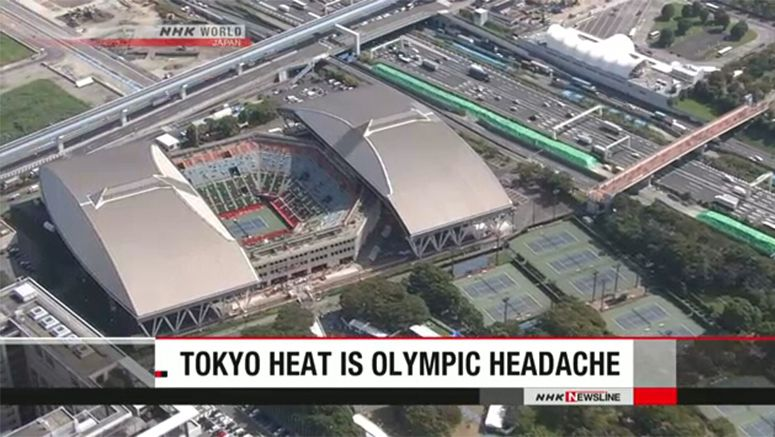 Survey measures heat stress for 2020 Tokyo Games