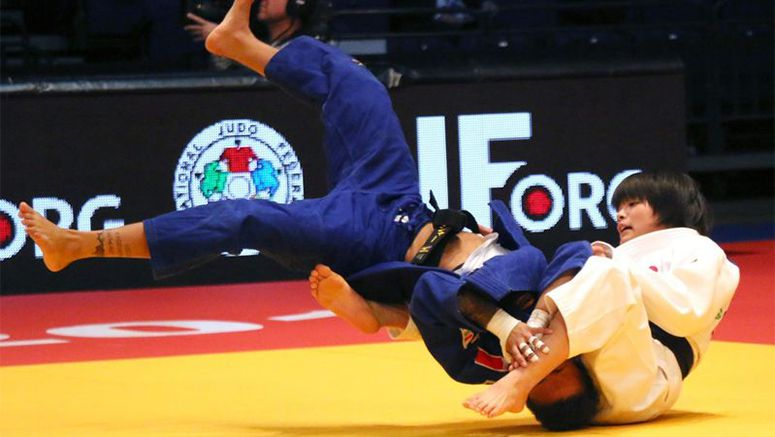 Teen Abe youngest to win world judo tour event