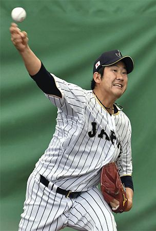 Samurai ace Sugano aims to make up for absence of Otani