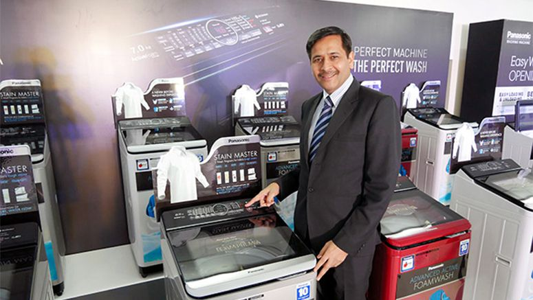 Panasonic's new Indian washing machine has 'curry' button