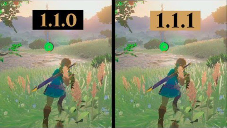 Zelda: Breath of the Wild Patch Improve The Game's Frame Rates