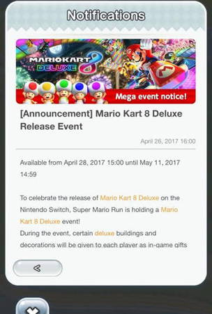 Super Mario Run To Get A Mario Kart 8 Deluxe Event This Friday