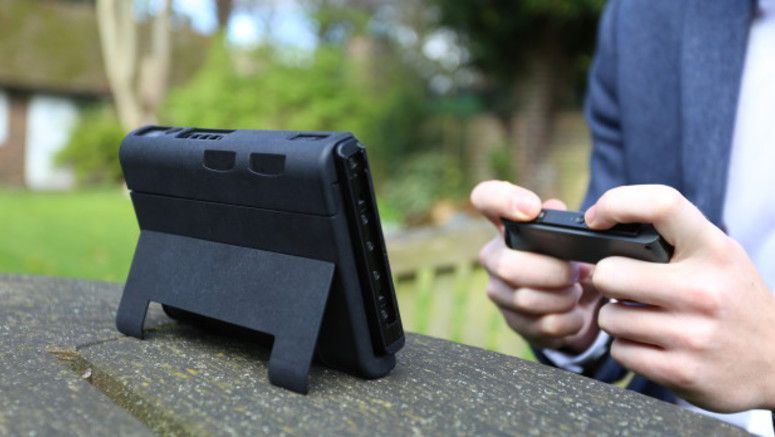The SwitchCharge Is A Battery Case For Your Nintendo Switch