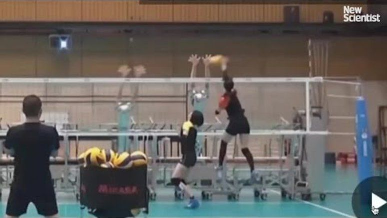Japan's Volleyball Team Is Training With Robots
