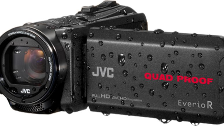 JVC's New Rugged Camcorders Can Float