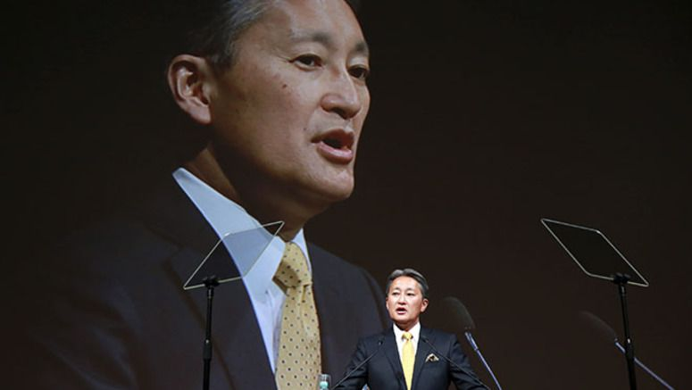 Sony chief Hirai promises profits, but is short on specifics