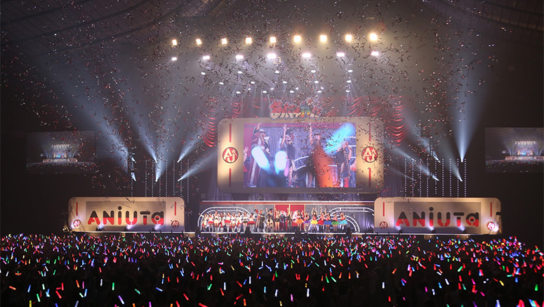 Anime streaming service ANiUTa holds first celebration concert ANiUPa