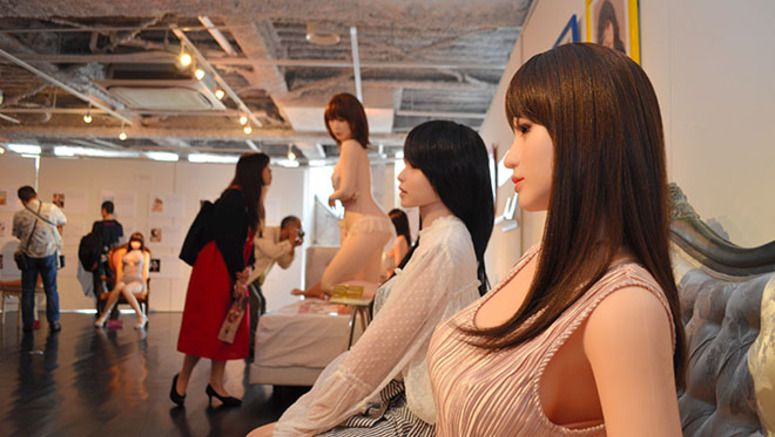 Perverted reality: Women outpace men at 'love doll' exhibit