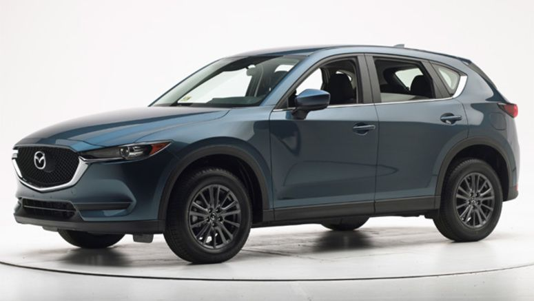 Redesigned 2017 Mazda CX-5 Aces its Crash Tests
