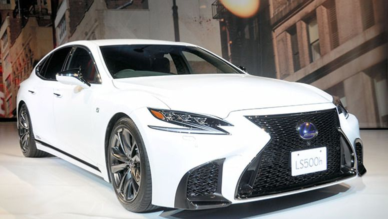 Fully remodeled Lexus LS big on safety features, Toyota says