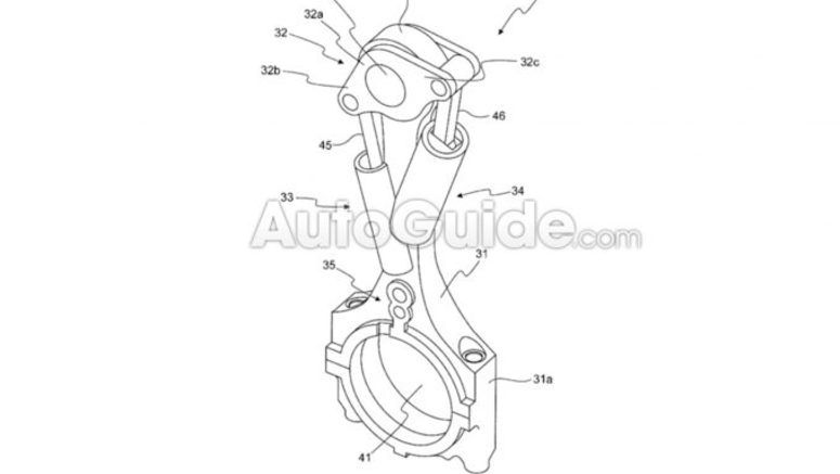 Toyota Patents Variable Compression Engine