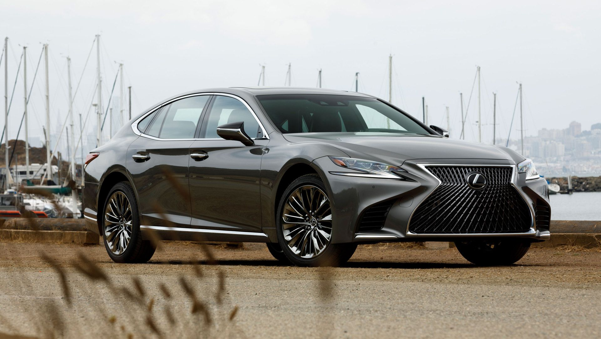 Lexus Hybrid Suv >> Video & Photo Gallery: 2018 Lexus LS 500 in Manganese Luster | Auto Moto | Japan Bullet