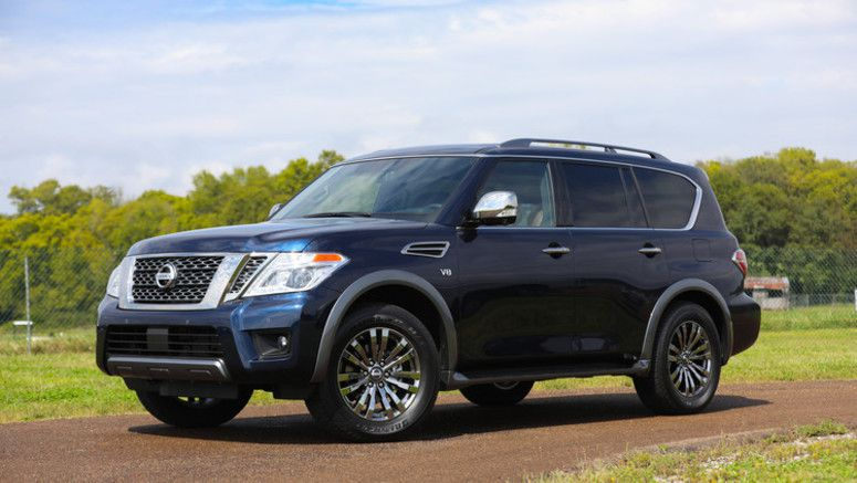 2018 Nissan Armada Platinum Reserve makes world debut at State Fair of Texas